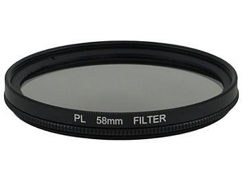 Globalmediapro Polarizing (PL) Filter 58mm