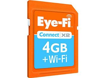 Eye-Fi 4GB Connect X2 Class-6 SDHC Card with Wi-Fi