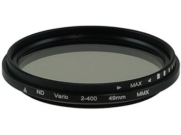 Globalmediapro Variable Neutral Density ND2-ND400 Filter 49mm