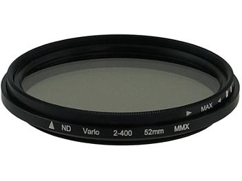 Globalmediapro Variable Neutral Density ND2-ND400 Filter 52mm
