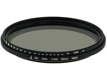 Globalmediapro Variable Neutral Density ND2-ND400 Filter 62mm