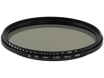 Globalmediapro Variable Neutral Density ND2-ND400 Filter 72mm