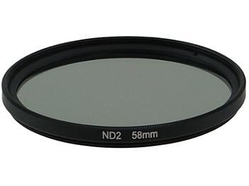 Globalmediapro Neutral Density ND2 Filter 58mm