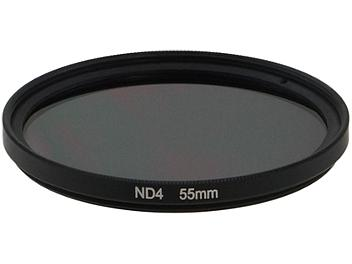 Globalmediapro Neutral Density ND4 Filter 55mm