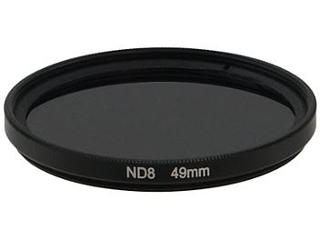 Globalmediapro Neutral Density ND8 Filter 49mm