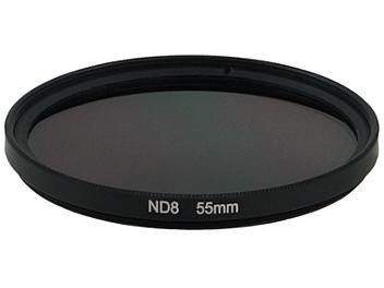 Globalmediapro Neutral Density ND8 Filter 55mm