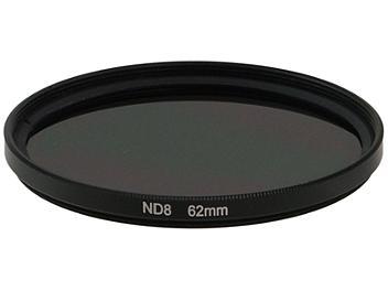 Globalmediapro Neutral Density ND8 Filter 62mm