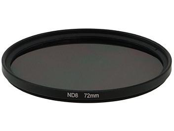 Globalmediapro Neutral Density ND8 Filter 72mm