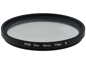 Globalmediapro Star Light 6 Point Cross Filter 49mm
