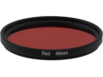 Globalmediapro Full Color Filter 49mm - Red