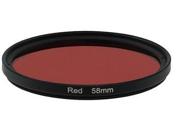 Globalmediapro Full Color Filter 58mm - Red