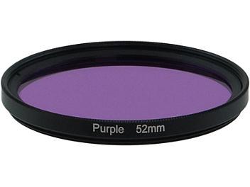 Globalmediapro Full Color Filter 52mm - Purple