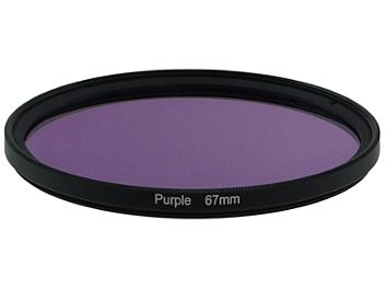 Globalmediapro Full Color Filter 67mm - Purple