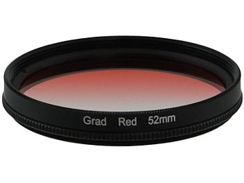 Globalmediapro Graduated Color Filter 52mm - Red