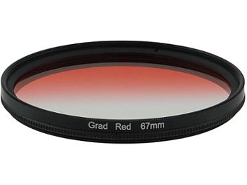 Globalmediapro Graduated Color Filter 67mm - Red