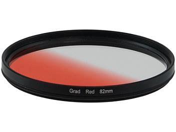Globalmediapro Graduated Color Filter 82mm - Red