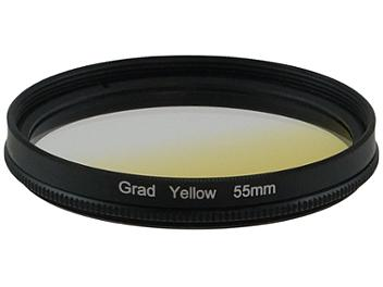 Globalmediapro Graduated Color Filter 55mm - Yellow