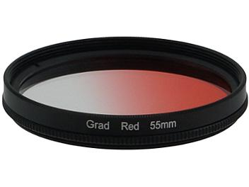 Globalmediapro Graduated Color Filter 55mm - Red