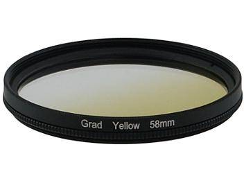 Globalmediapro Graduated Color Filter 58mm - Yellow
