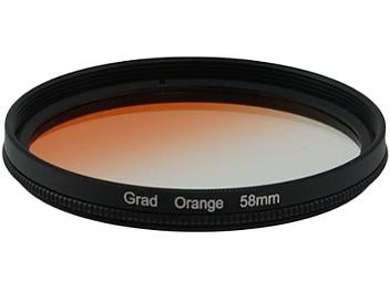 Globalmediapro Graduated Color Filter 58mm - Orange