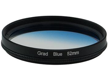 Globalmediapro Graduated Color Filter 52mm - Blue