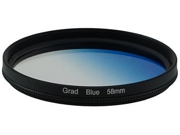 Globalmediapro Graduated Color Filter 58mm - Blue