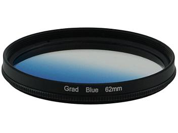 Globalmediapro Graduated Color Filter 62mm - Blue