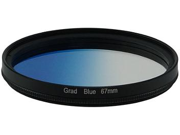 Globalmediapro Graduated Color Filter 67mm - Blue