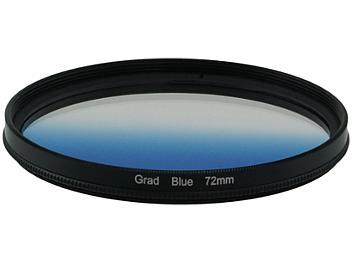 Globalmediapro Graduated Color Filter 72mm - Blue