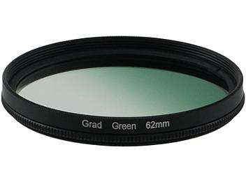 Globalmediapro Graduated Color Filter 62mm - Green