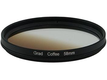 Globalmediapro Graduated Color Filter 58mm - Coffee