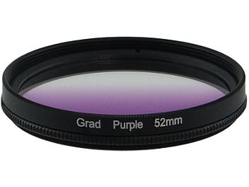 Globalmediapro Graduated Color Filter 52mm - Purple