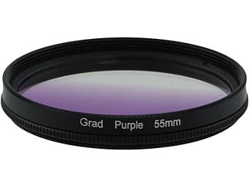Globalmediapro Graduated Color Filter 55mm - Purple