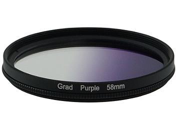 Globalmediapro Graduated Color Filter 58mm - Purple
