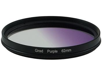 Globalmediapro Graduated Color Filter 62mm - Purple