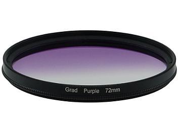 Globalmediapro Graduated Color Filter 72mm - Purple
