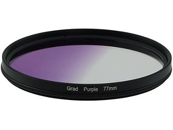 Globalmediapro Graduated Color Filter 77mm - Purple