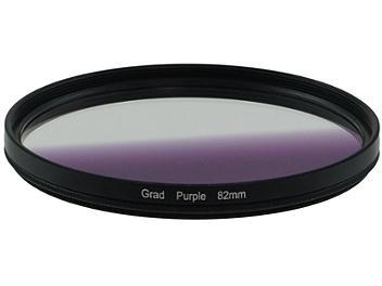 Globalmediapro Graduated Color Filter 82mm - Purple