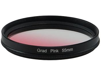Globalmediapro Graduated Color Filter 55mm - Pink