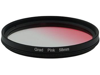 Globalmediapro Graduated Color Filter 58mm - Pink