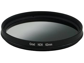 Globalmediapro Neutral Density ND8 Graduated Filter 62mm