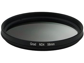 Globalmediapro Neutral Density ND4 Graduated Filter 58mm