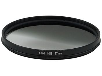 Globalmediapro Neutral Density ND8 Graduated Filter 77mm