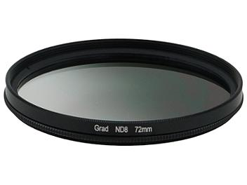 Globalmediapro Neutral Density ND8 Graduated Filter 72mm