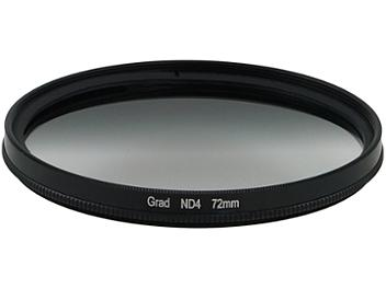 Globalmediapro Neutral Density ND4 Graduated Filter 72mm