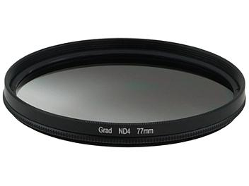 Globalmediapro Neutral Density ND4 Graduated Filter 77mm
