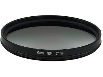 Globalmediapro Neutral Density ND4 Graduated Filter 67mm