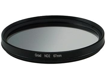 Globalmediapro Neutral Density ND2 Graduated Filter 67mm