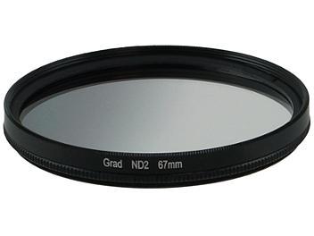 Globalmediapro Neutral Density ND2 Graduated Filter 67mm