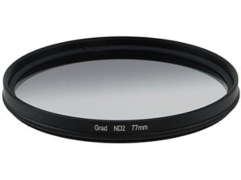 Globalmediapro Neutral Density ND2 Graduated Filter 77mm